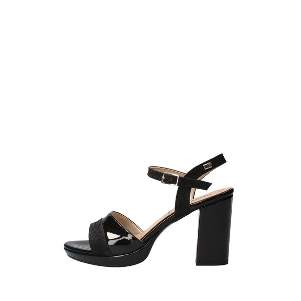 VALLEVERDE With heel Black