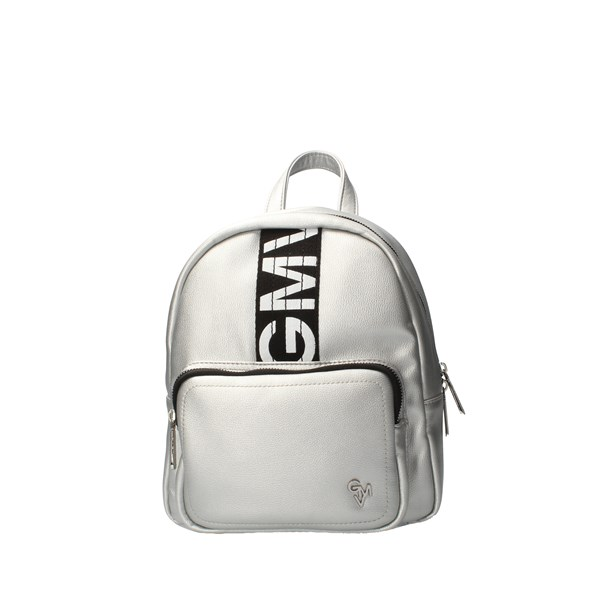 GIANMARCO VENTURI Backpacks Silver
