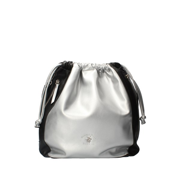 Beverly Hills Polo Club Backpacks Silver