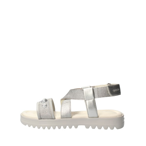 GEOX Sandals Silver