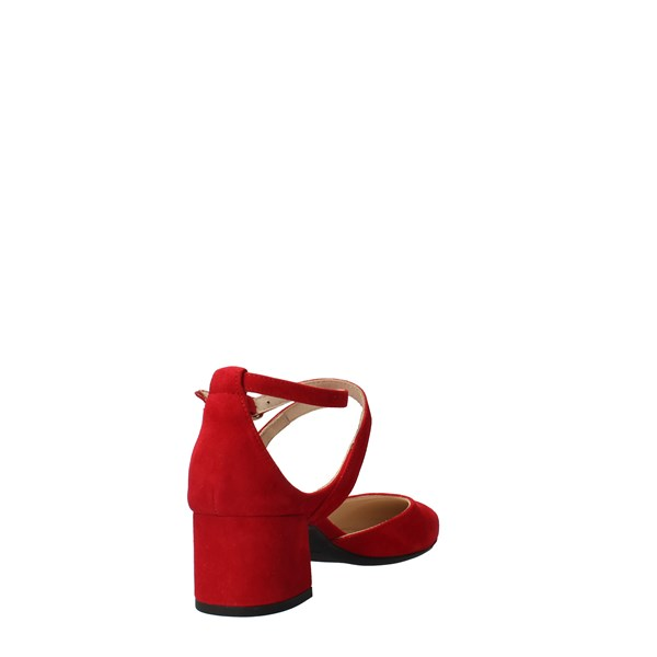 Nero Giardini Shoes Women Decolletè Red E012023DE