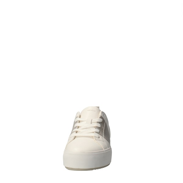 GEOX Shoes Women low White D02DZA