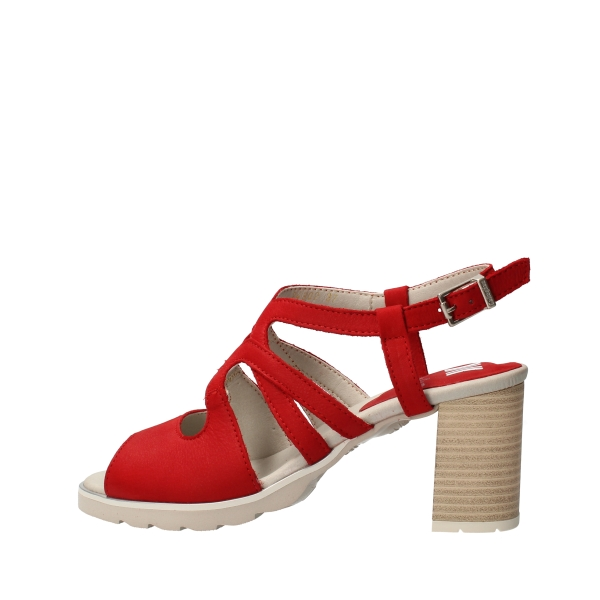 CallagHan Shoes Women With heel Red 24802