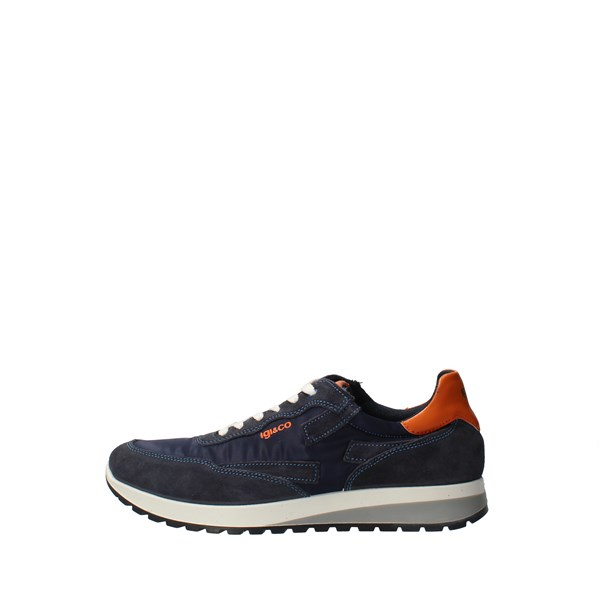 IGI&CO Shoes Men low Blue 51274