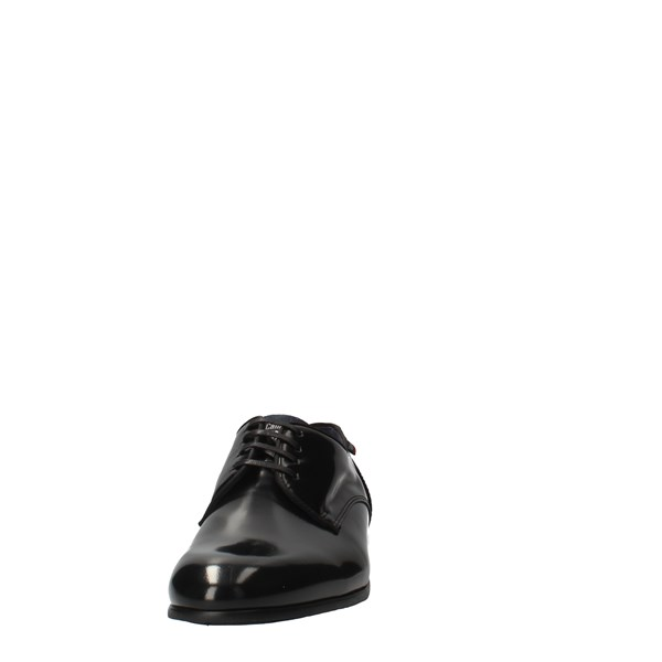 CallagHan Shoes Men Laced Black 18900