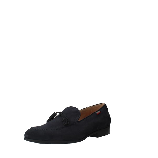 CallagHan Shoes Men Loafers Blue 18902C