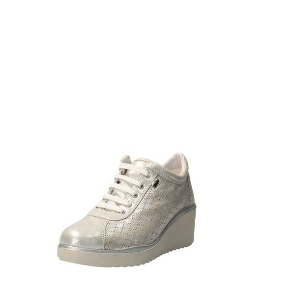 VALLEVERDE Shoes Women With wedge Silver V86431A