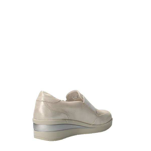 VALLEVERDE Shoes Women Without laces Silver 18151