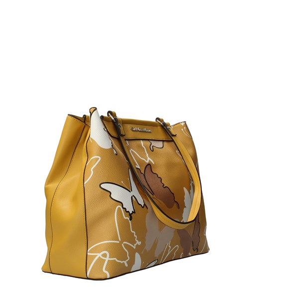 GIANMARCO VENTURI Bags Women Shoulder Strap Yellow GBMD0028SG2
