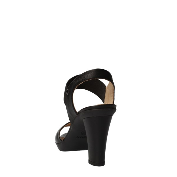 GEOX Shoes Women With heel Black D721VA
