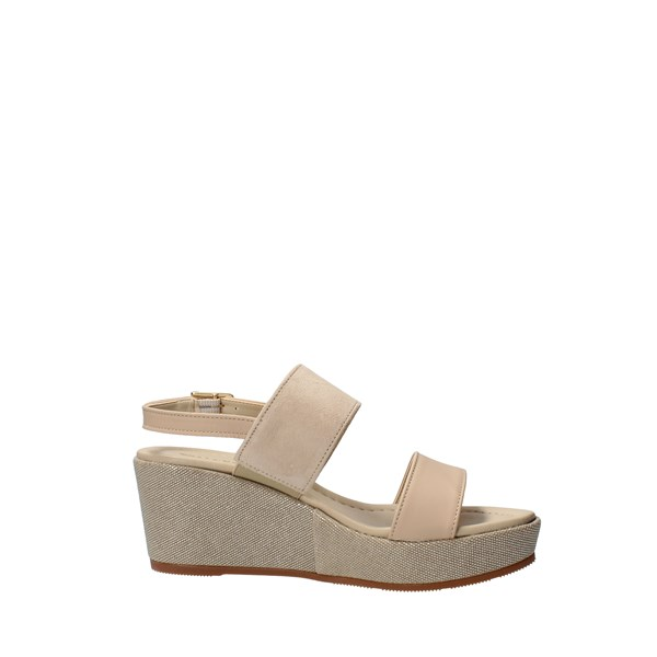 VALLEVERDE Shoes Women With wedge Beige 32212