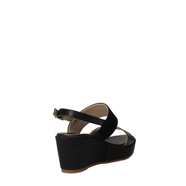 VALLEVERDE Shoes Women With wedge Black 32212