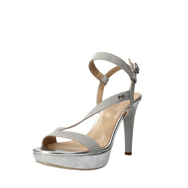 Nero Giardini Shoes Women With heel Silver P806070DE