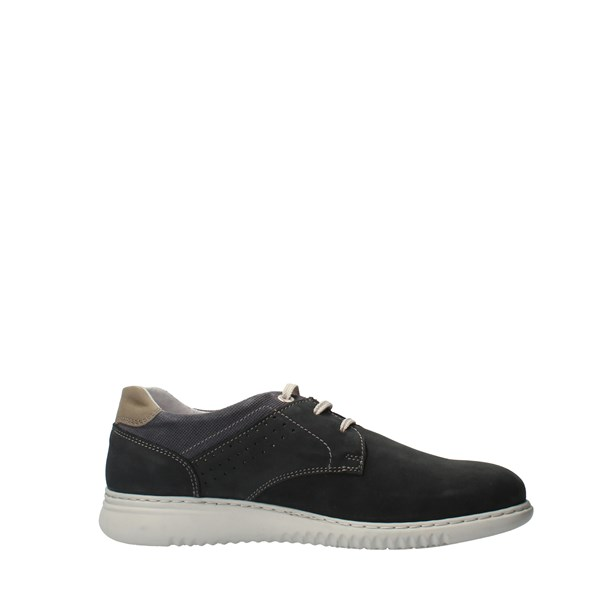 ZEN Shoes Men Laced Blue 018170