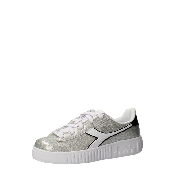 DIADORA Shoes Girls low Silver 101.176740