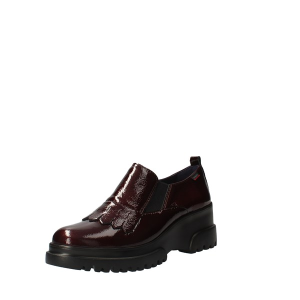 CallagHan Shoes Women Loafers bordeaux 27206