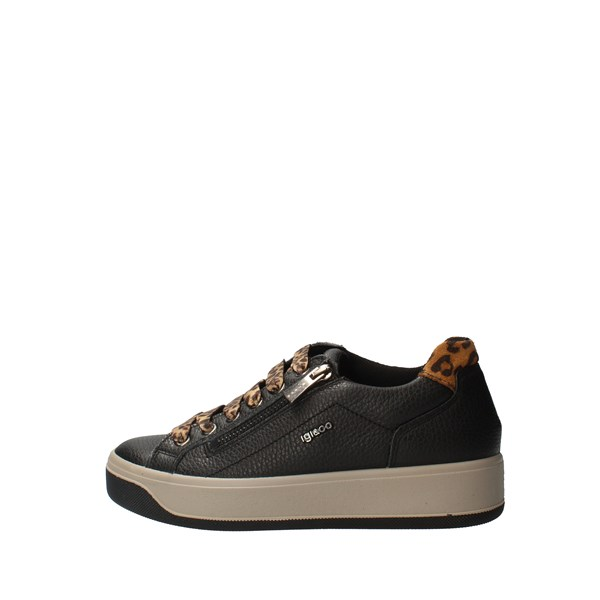 IGI&CO Shoes Women low Black 6162600