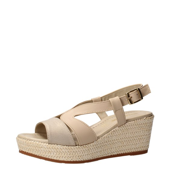 VALLEVERDE Shoes Women With wedge Beige 32211
