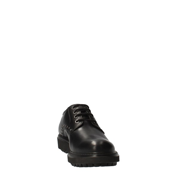 GEOX Shoes Women Laced Black D047AH