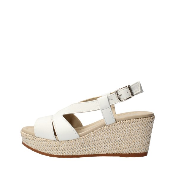 VALLEVERDE Shoes Women With wedge White 32211