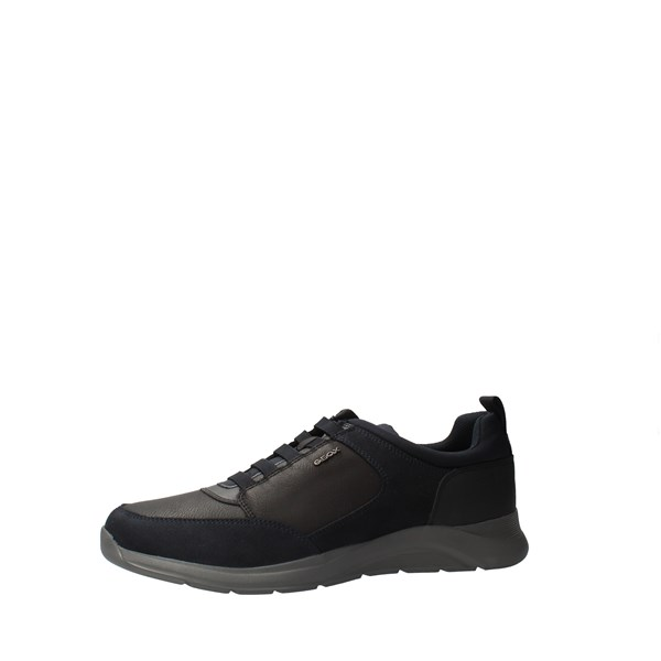 GEOX Shoes Men low Blue U04AND