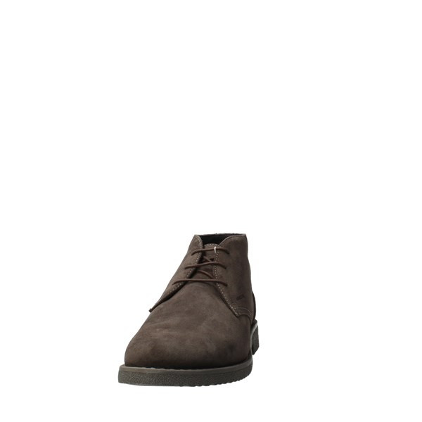GEOX Shoes Men Laced Grey U043MB
