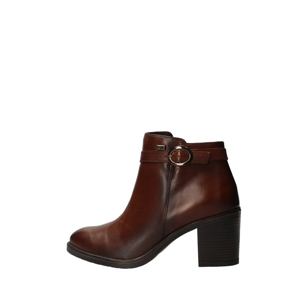 VALLEVERDE Shoes Women boots Brown 16301