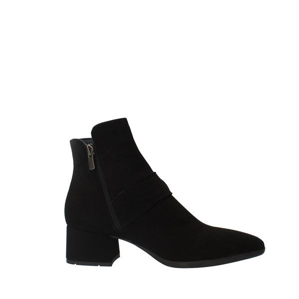CallagHan Shoes Women boots Black 27302