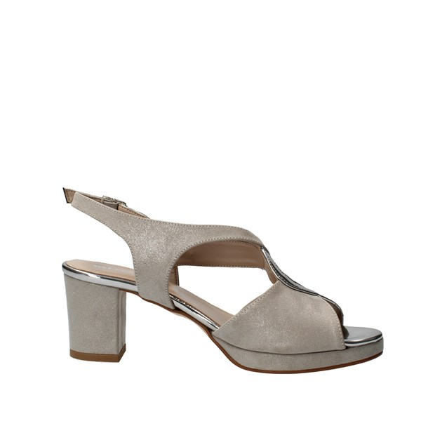VALLEVERDE Shoes Women With heel Silver 45371