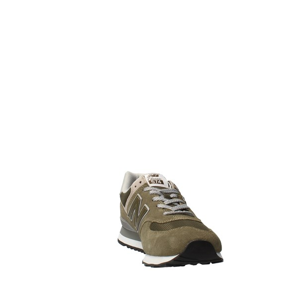 NEW BALANCE Shoes Men low Green ML574EGO