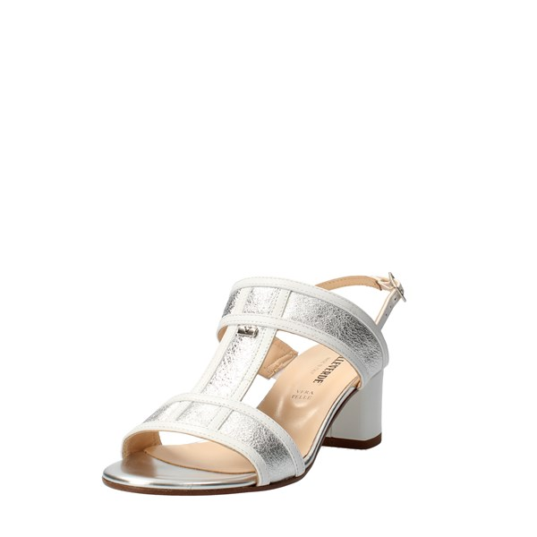 VALLEVERDE Shoes Women With heel Silver 38506
