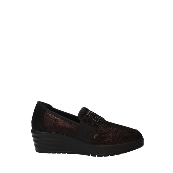 ENVAL Shoes Women Loafers bordeaux 6274833