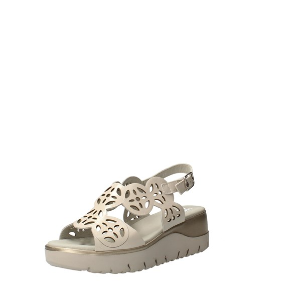 CallagHan Shoes Women With wedge White 26510