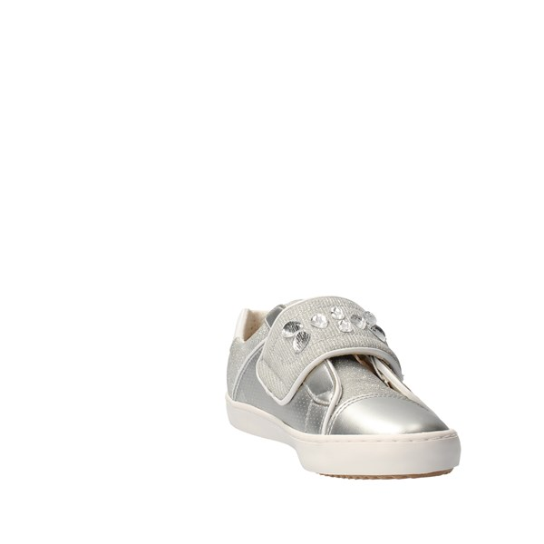 GEOX Shoes Girls Without laces Silver J82D5G