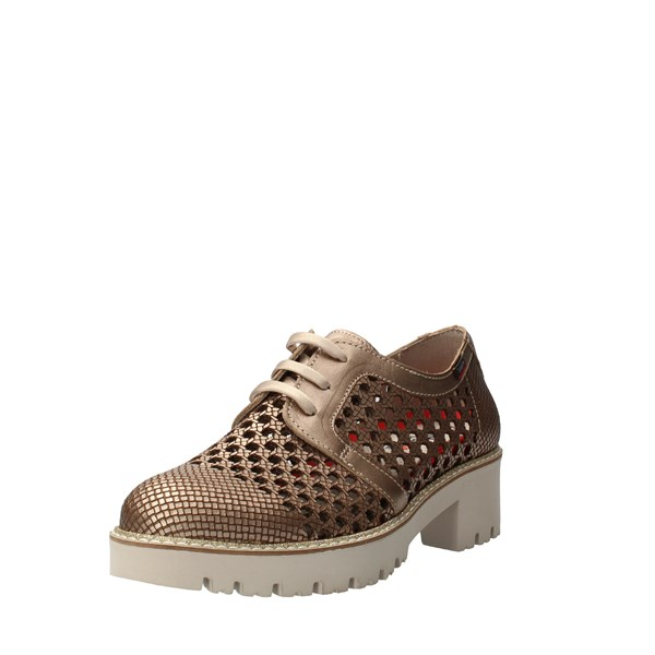 CallagHan Shoes Women Laced Bronze 13414
