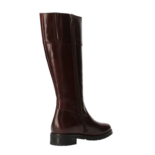 CallagHan Shoes Women Under the knee Brown 22302
