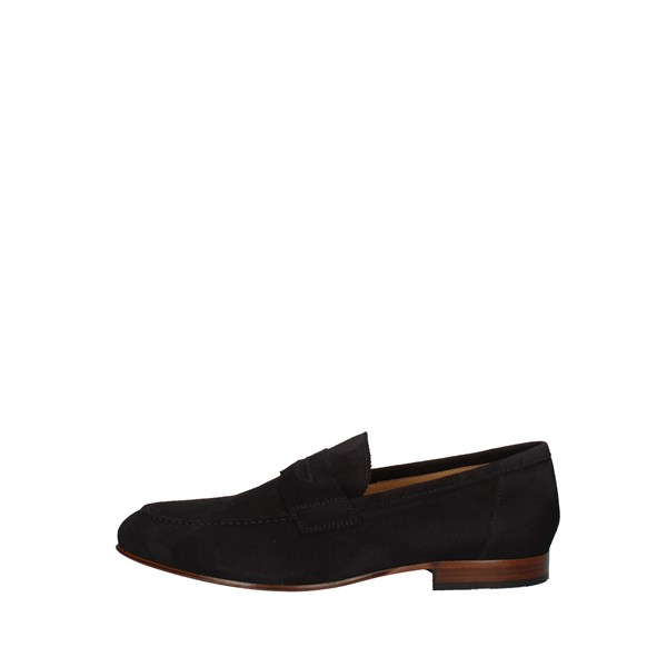 Nero Giardini Shoes Men Loafers Blue P800200U