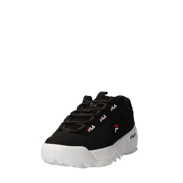FILA Shoes Men low Black 1CM00490